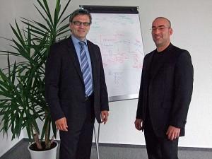 Hand und Hand für die Möbelbranche: Hermann Balke und Lior Yarom