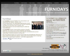 Screenshot Website FurniDays